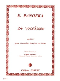 24 Vocalises Progressives, Opus 81b N° 2 Heinrich Panofka laflutedepan