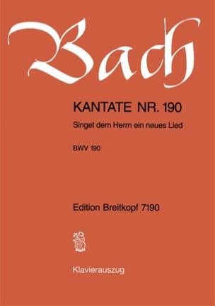 Cantate 190 Singet Dem Herrn Ein Neues Lied Johann S Bach laflutedepan