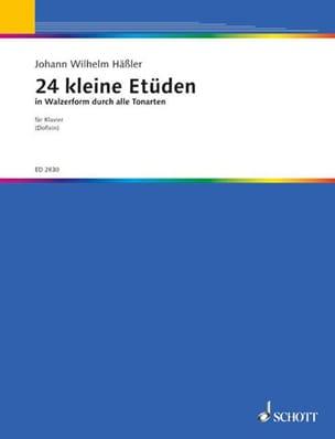 24 kleine Etüden in Walzerform Johann Wilhelm Hässler laflutedepan