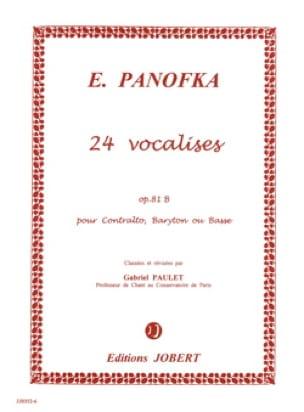 24 Vocalises Progressives, Opus 81b N° 2 - laflutedepan.com