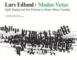 Modus Vetus - Lars Edlund - Partition - Chœur - laflutedepan.com
