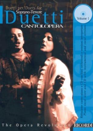 Duetti Per Soprano-Tenore Volume 1 Partition Opéras - laflutedepan