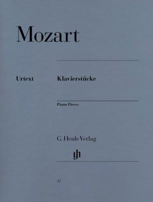 Klavierstücke MOZART Partition Piano - laflutedepan
