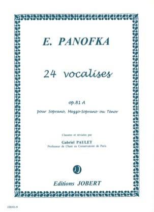 24 Vocalises Progressives, Opus 81a Volume 1 laflutedepan