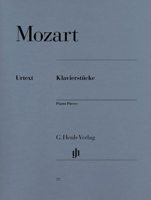 Klavierstücke - MOZART - Partition - Piano - laflutedepan.com