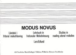Modus Novus Lars Edlund Livre laflutedepan