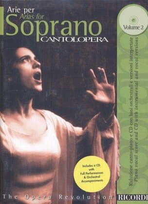 Arie Per Soprano Volume 2 Partition Opéras - laflutedepan