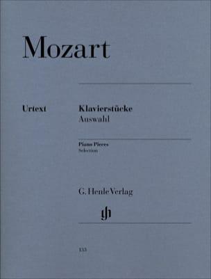 Klavierstücke Auswahl MOZART Partition Piano - laflutedepan