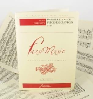 1er Livre de Pièces de Clavecin - CORRETTE - laflutedepan.com