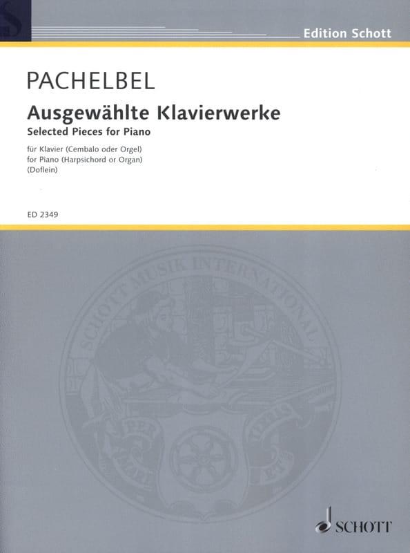 Ausgewählte Klavierwerke - PACHELBEL - Partition - laflutedepan.com