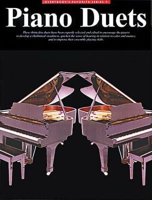 Piano Duets Partition Piano - laflutedepan