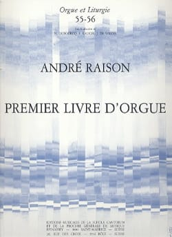 1er Livre d'Orgue Volume 1 André Raison Partition Orgue - laflutedepan
