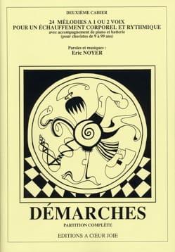 Démarches. 2ème Cahier. Eric Noyer Livre laflutedepan