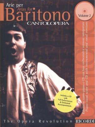 Arie Per Baritono Volume 2 Partition Opéras - laflutedepan