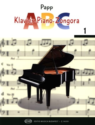 ABC, Volume 1 Lajos Papp Partition Piano - laflutedepan