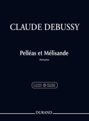 Pelléas et Mélisande DEBUSSY Partition Opéras - laflutedepan