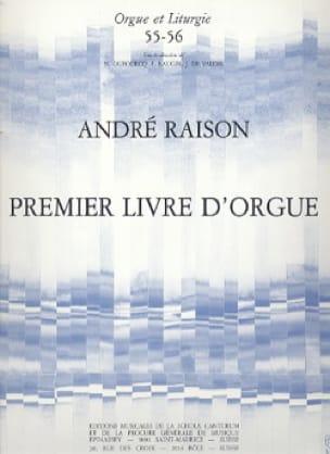 1er Livre d'Orgue Volume 1 - André Raison - laflutedepan.com