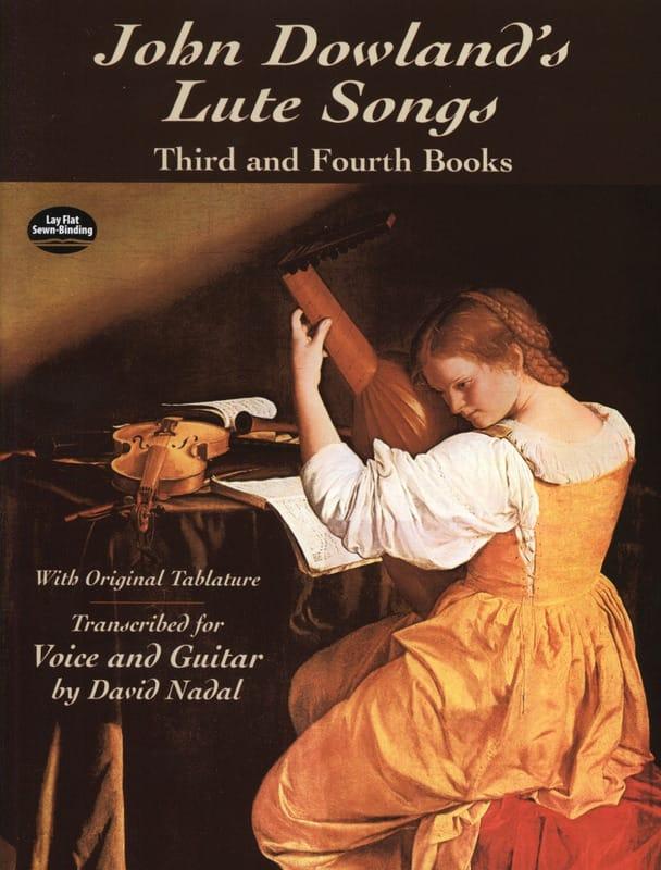 Lute Songs Livres 3 et 4 - DOWLAND - Partition - laflutedepan.com