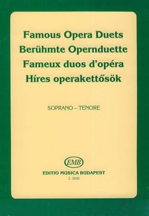 Célèbres Duos D'opéra. Soprano-Ténor Partition Duos - laflutedepan