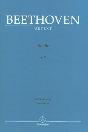 Fidelio Opus 72 BEETHOVEN Partition Opéras - laflutedepan