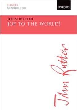 Joy to the world RUTTER Partition Chœur - laflutedepan