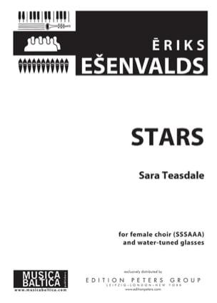 Stars Eriks Esenvalds Partition Chœur - laflutedepan