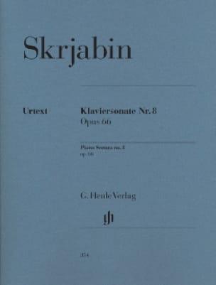 Sonate Pour Piano N° 8 Op. 66 - SCRIABINE - laflutedepan.com