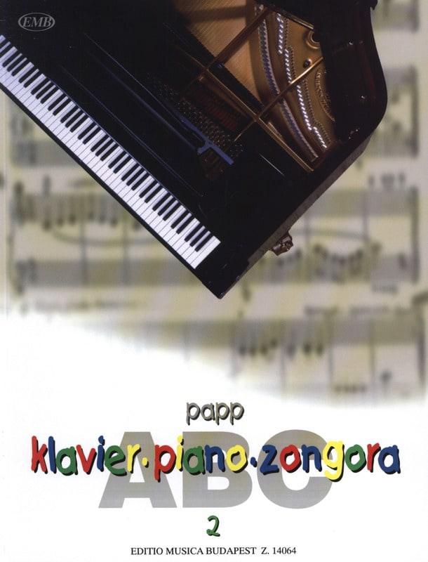 ABC, Volume 2 - Lajos Papp - Partition - Piano - laflutedepan.com