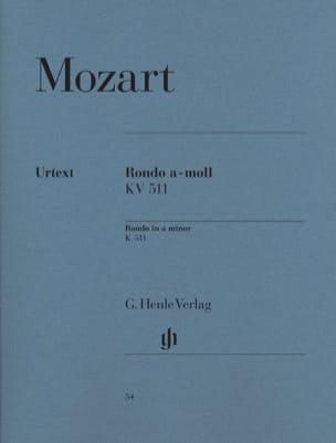 Rondo en la mineur K. 511 MOZART Partition Piano - laflutedepan