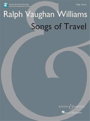 Songs of Travel. Voix Haute WILLIAMS VAUGHAN Partition laflutedepan