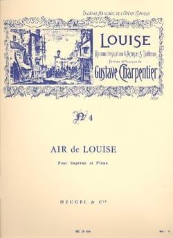 Depuis le Jour. Louise Gustave Charpentier Partition laflutedepan