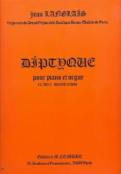 Diptyque Opus 179 Jean Langlais Partition Orgue - laflutedepan