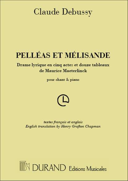 Pelléas et Mélisande - DEBUSSY - Partition - Opéras - laflutedepan.com