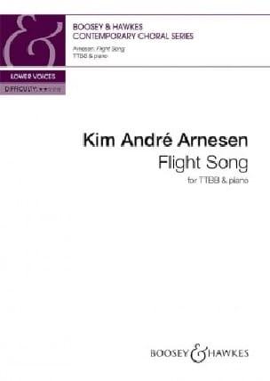 Flight Song. TB - Kim André Arnesen - Partition - laflutedepan.com
