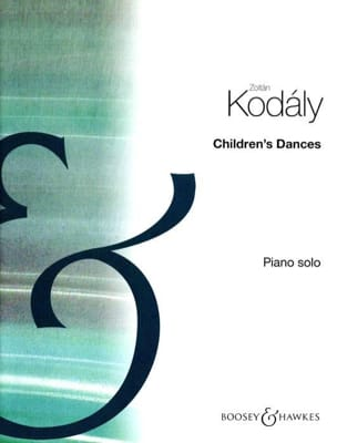Children's Dances KODALY Partition Piano - laflutedepan