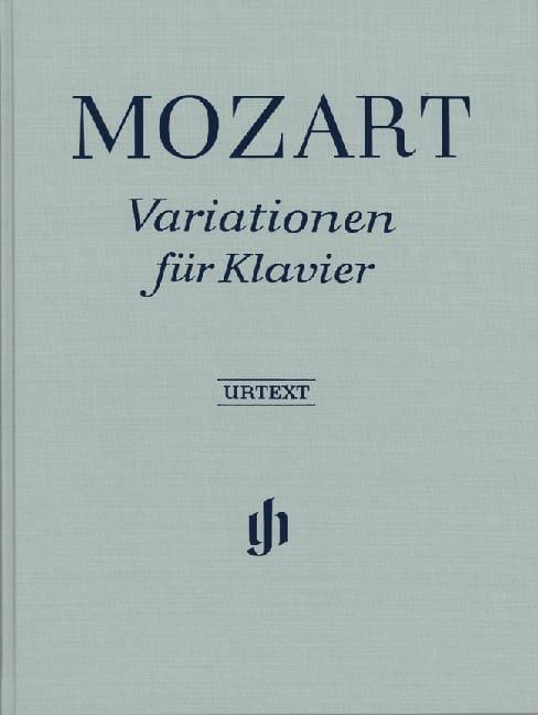 Variations pour piano. Relié - MOZART - Partition - laflutedepan.com