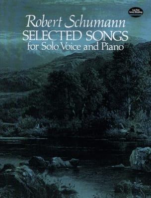 Selected Songs SCHUMANN Partition Mélodies - laflutedepan