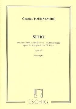 Sitio Opus 67-5. Charles Tournemire Partition Orgue - laflutedepan