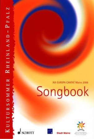 Songbook : Europa Cantat Mainz 2006 - Partition - laflutedepan.com