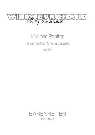 Kleiner Psalter Op. 82 - Willy Burkhard - Partition - laflutedepan.com