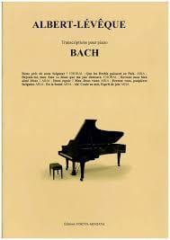 Bach - Transcriptions Johann Sebastian Bach Partition laflutedepan