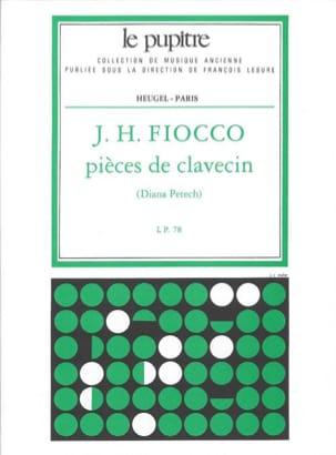 Pièces De Clavecin Fiocco Joseph-Hector / Petech laflutedepan