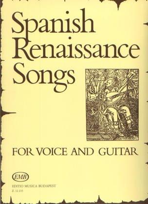 Spanish Renaissance Songs Partition Guitare - laflutedepan
