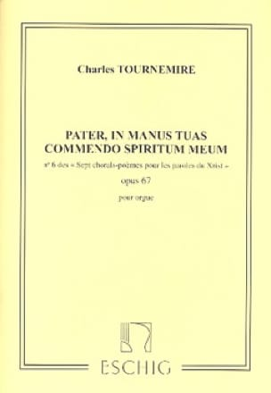 7 Chorals Poèmes Opus 67-6 - Charles Tournemire - laflutedepan.com