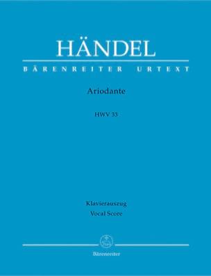 Ariodante. HWV 33 HAENDEL Partition Opéras - laflutedepan