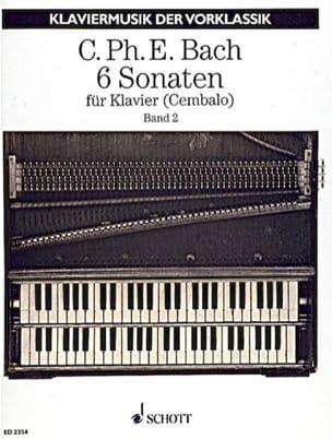 6 Sonaten. Volume 2 - Carl-Philipp Emanuel Bach - laflutedepan.com