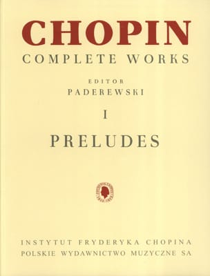 Préludes Opus 28 et 45 - CHOPIN - Partition - Piano - laflutedepan.com