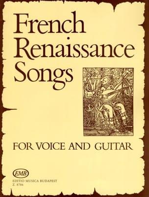 French Renaissance Songs. Partition Guitare - laflutedepan