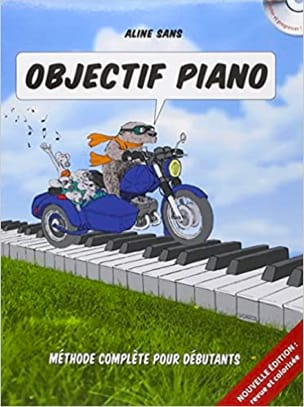 Objectif Piano Aline SANS Partition Piano - laflutedepan