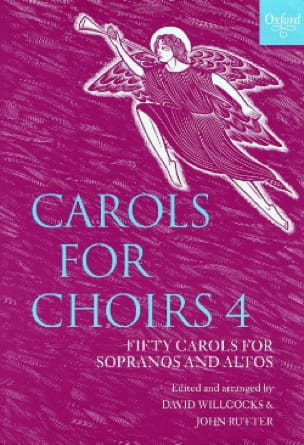 Carols For Choirs Volume 4 - Partition - Chœur - laflutedepan.com